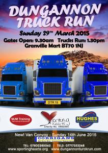 Dungannon Truck Run 2015 Poster