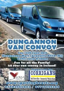 Dungannon Van Convoy 2015